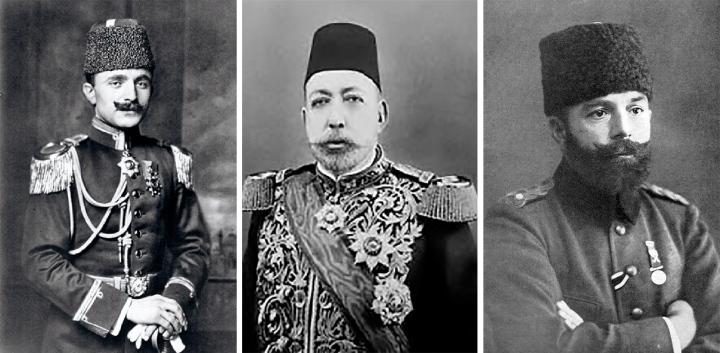 17-Ismail-Enver&Mehmed-Talaat&Ahmed-Djemal