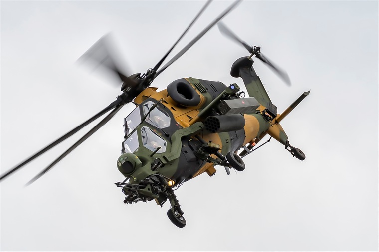 AgustaWestland (TAI) T129A ATAK - 23 (NickJ 1972) by NickJ 1972 (flickr) Tags- farnborough trade air 2018
