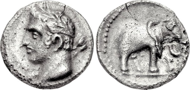 Carthage,_quarter_shekel,_237-209_BC,_SNG_BM_Spain_102