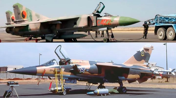 Cuito Cuanavale MiG-23 vs Mirage F1CZ 001