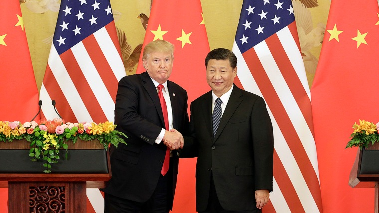 U.S. President Donald Trump And China President Xi Jinping Deliver Press Statement