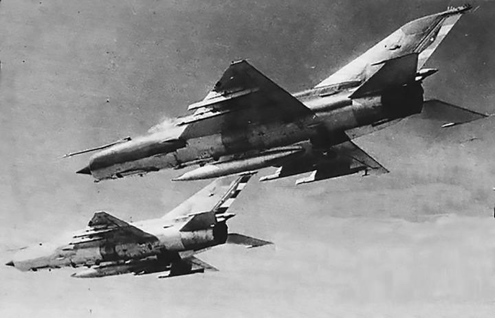 MiG-21 Cuba operation Pico-6