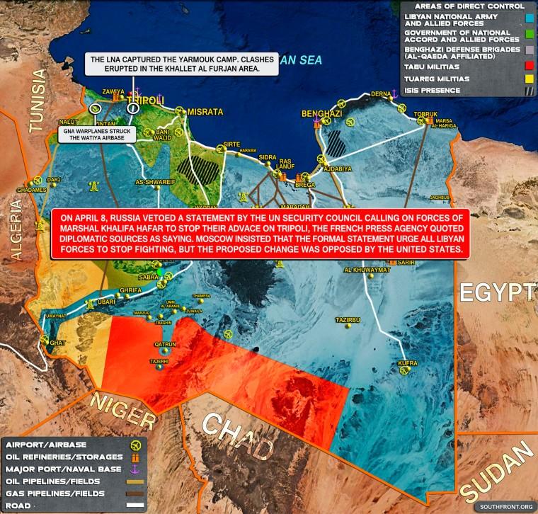 8april_Libyan_War_Map
