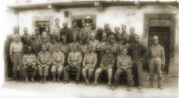 A company of III Battalion of 11th Regiment of the Brazilian Expeditionary Force in Italy. Photo- Durval Jr. – CC BA-SA 3.01280px-uma_cia_do_lapa_azul_2-741x406