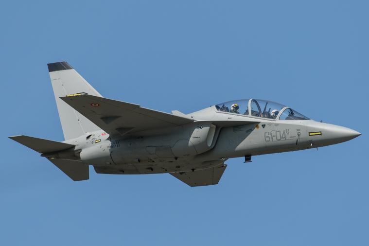 Alenia Aermacchi T-346A Master MM55155 61-04 formazione legend