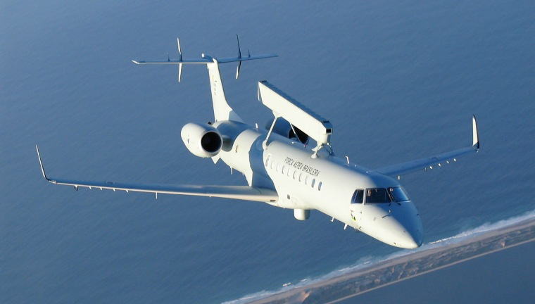 Avião Radar