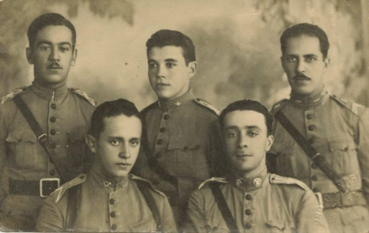 Brazilian Army officers, World War I.
