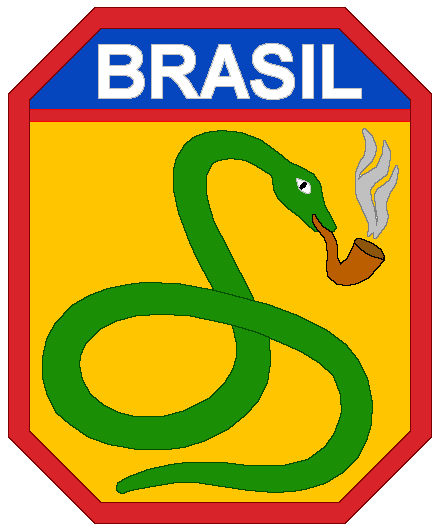 Brazilian Expeditionary Forces logo.