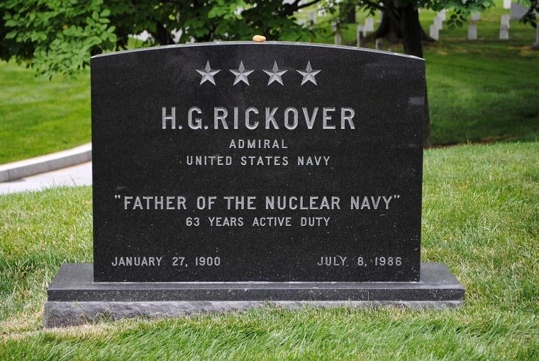 Rickover grave
