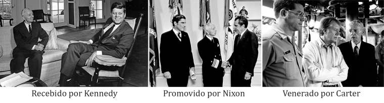 Rickover-Presidentes