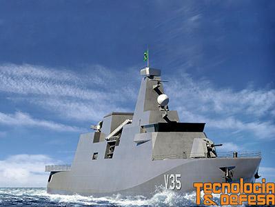 A Marinha do Brasil divulga nota oficial ampliando informações a respeito do Projeto Classe Tamandaré.