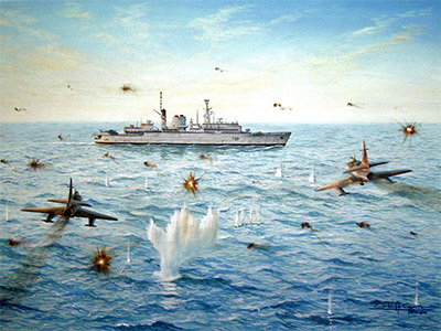 O Prof. Rudnei Dias da Cunha traça um panorama geral das principais ações aéreas argentinas durante a guerra.