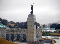 Monumento à Guerra das Falklands de 1982 (Foto: Hélio Higuchi)