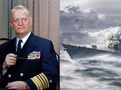 Comandante do lendário DESDRON 23 e CNO por três turnos, o almirante Arleigh Burke deixou um legado na US Navy.